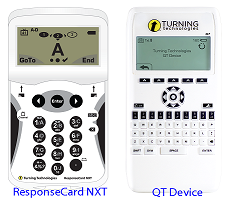 Turning Technologies Devices